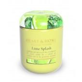 Ароматна Свещ H&H - Lime Splash - Пръски от Лайм