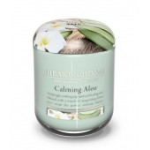 Ароматна Свещ H&H - CALMING ALOE - Успокояващо Алое