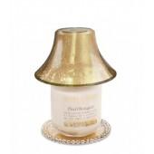 Абажур+чинийка за Свещ буркан Злато