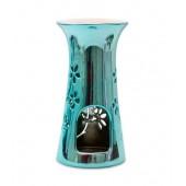 Арома Лампа H&H за топене на восък - Синя Металик