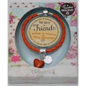 Кожена гривна с камък - Verity Rose - The best of Friends