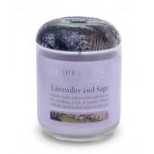 Ароматна Свещ H&H - Lavender and Sage - ЛАВАНДУЛА И ГРАДИНСКИ ЧАЙ