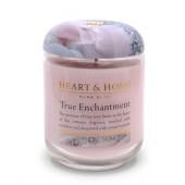 Ароматна Свещ H&H - True Enchantment - ОМАГЬОСВАЩ АРОМАТ